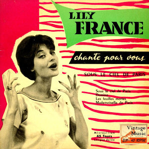 "Vintage French Song Nº 28 - EPs Collectors ""Sous Le Ciel De paris"""