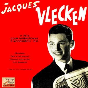 """Vintage French Song Nº 56 - EPs Collectors """"Couple International Accordion"""" """"Paris Je T'ai Retrouvé"""""""