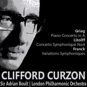 Gieg: Piano Concerto in A - Litolff: Concerto Symphonique No. 4 - Franck: Variations Symphoniques