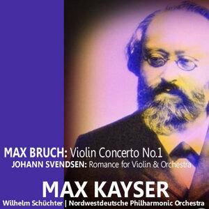 Bruch: Violin Concerto No. 1 - Svendsen: Romance for Violin and Orchestra