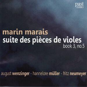 Marais: Suite des pièces de violes, Book 3, No. 5