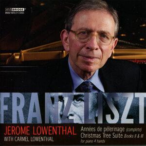 Jerome Lowenthal: Music of Franz Liszt