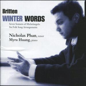 Britten: Winter Words, Seven Sonnets Of Michelangelo, Six Folk Song Arrangements