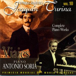 Joaquin Turina Complete Piano Works Vol 10 Viajes