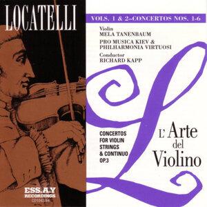 Locatelli: L'arte del Violino Op.3, Vol. 1 & 2