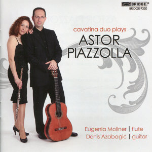 Cavatina Duo: Music of Astor Piazzolla