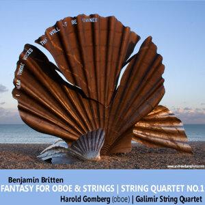 Fantasy for Oboe and Strings, Op. 2; String Quartet No. 1 in D, Op. 25