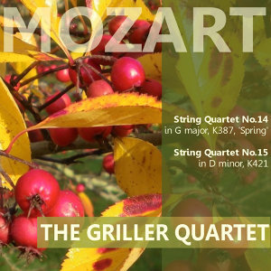 "Mozart: String Quartet No. 14 in G Major ""Spring"", String Quartet No. 15 in D Minor"