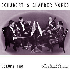 Schubert's Chamber Works Volume 2
