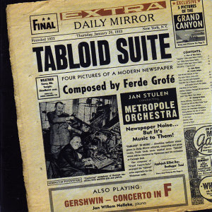 Tabloid Suite - Four Pictures of a Modern Newspaper