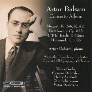 Artur Balsam: Concerto Album