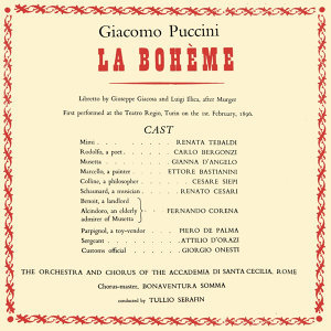 Giacomo Puccini La Bohème