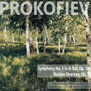 Prokofiev: Symphony No. 5 in B-Flat, Op. 100; Russain Overture, Op. 72