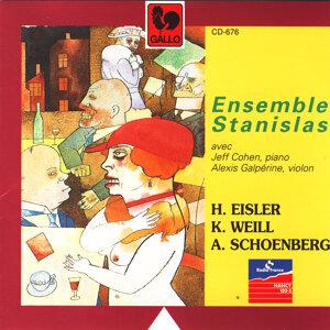 Hanns Eisler – Kurt Weill – Arnold Schoenberg