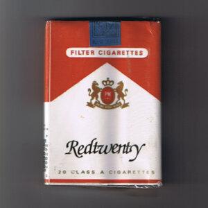 20 Class A Cigarettes