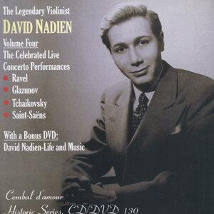The Legendery Violinist David Nadien Vol. 4, the Celebrated Live Concerto Performances