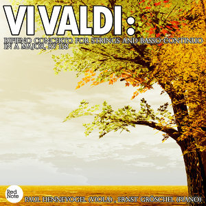 Vivaldi: Ripieno Concerto for Strings and Basso Continuo in A major, RV 158