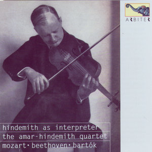 Hindemith as Interpreter: Mozart, Bartók, Beethoven