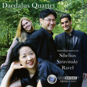 String Quartets of Sibelius, Stravinsky and Ravel