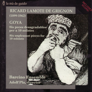 Lamote de Grignon: Six unpleasant pieces for 10 soloists