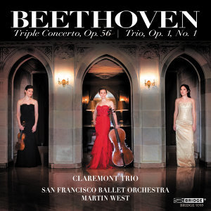 The Claremont Trio: Beethoven's Triple Concerto, Op. 56 and Trio, Op. 1, No. 1