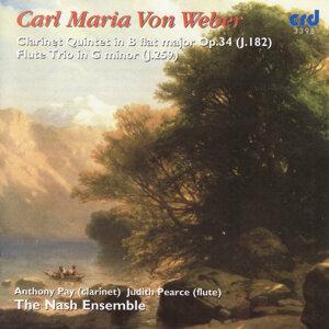 Weber: Clarinet Quintet in B flat major Op.34, Flute Trio in G minor