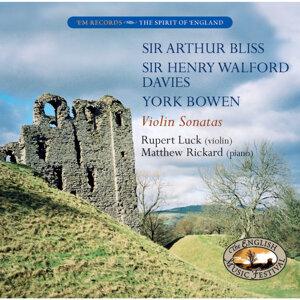 Bliss, Walford Davies, Bowen: Sonatas for Violin and Piano