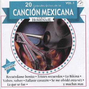 20 Grandes Éxitos de la Canción Mexicana, Vol. 1