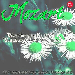 """Mozart: Divertimento K. 136 & K. 137 """"Salzburg Symphony No. 1 & 2"""""""