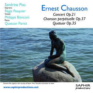 Concert Op.21, Chanson perpétuelle Op.37, Quatuor Op.35