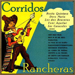 Vintage México No. 181- LP: Corridos Y Rancheras