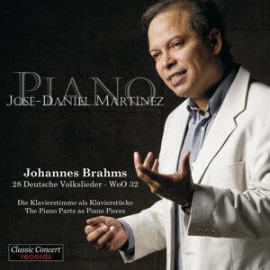 Johannes Brahms - 28 Deutsche Volkslieder - WoO 32 - The Piano Parts as Piano Pieces