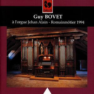 Guy Bovet à l'orgue Jehan Alain de Romainmôtier