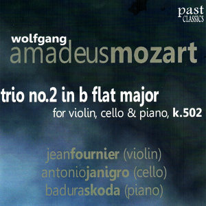 Mozart: Trio No. 2 in B Flat Major for Violin, Cello & Piano, K. 502