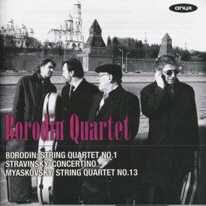 Borodin Quartet perform Borodin, Stravinsky & Myaskovsky