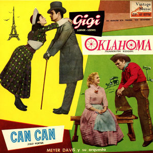"Vintage Dance Orchestras Nº 57 - EPs Collectors From The Films: ""Gigi"", ""Oklahoma"", ""Can Can"""