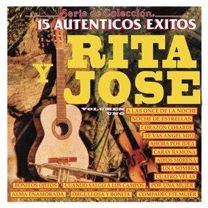 """Serie de Colección 15 Auténticos Éxitos """"Rita Y José"""""""