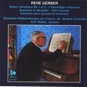 René Gerber: Concerto pour basson et orchestre - Suites françaises - L'Hommage à Ronsard - Aucassin et Nicolette - Petit concert