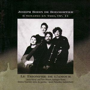 Boismortier - 6 sonates en trio