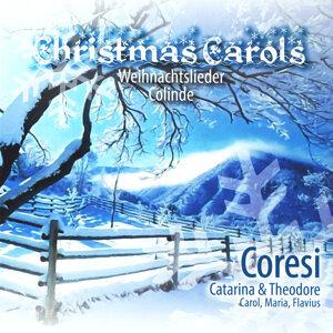 Christmas Carols – Weihnachtslieder, Catarina & Theodore Coresi