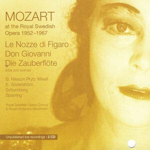Mozart at the Royal Swedish Opera 1952 - 1967