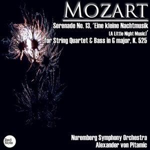 Mozart: Serenade No. 13, 'Eine kleine Nachtmusik (A Little Night Music)' for String Quartet & Bass in G major, K. 525
