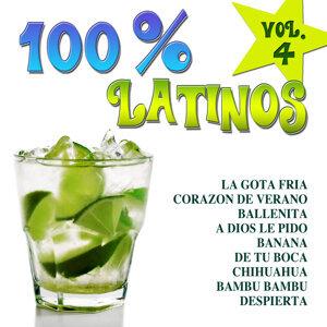 100% Latinos Vol.4