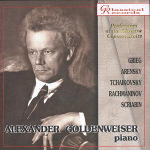 Alexander Goldenweizer, Piano