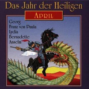 Das Jahr der Heiligen: April