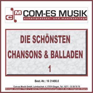 Die schönsten Chansons & Balladen - 1