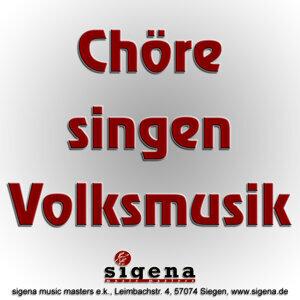 Chöre singen Volksmusik