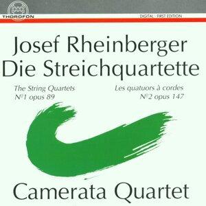 Josef Rheinberger: Streichquartette