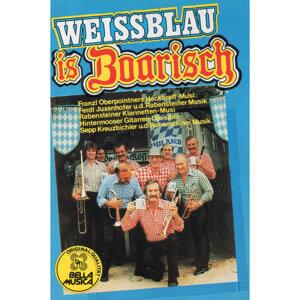 Weissblau is boarisch