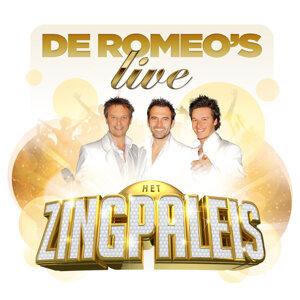 De Romeos Live in Het Zingpaleis